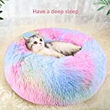 DADYPET Lit pour Chat Lit pour Chien Doux Confortable et Mignon, Chaud d'animal familier/lit de Sommeil de Chat/Lits d'animal familier pour des Chatons Dormant - XL (75 * 20CM)