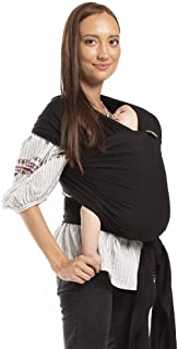 Boba Baby Wrap Carrier, Black – The Original Child and Newborn Sling, Perfect for..