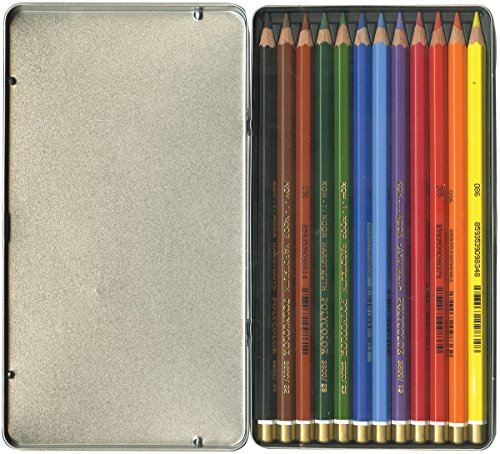 Chartpak Mondeluz Aquarelle Crayons Aquarelle 12 kg