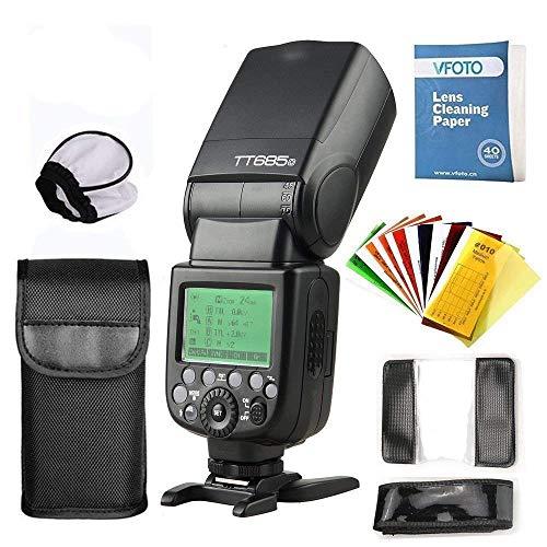 Godox TT685O TTL Hochgeschwindigkeitsblitz 2.4G HSS 1 / 8000s GN60 Funkkamera für Olympus E-M10II E-M1 E-PL7 E-PL6 E-PL3 Stift-F-Kamera und Panasonic DMC-CX85 DMC-G7 DMC-GF1 DMC -LX100
