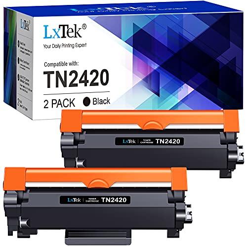 LxTek Compatibili Toner Sostituzione per Brother TN2420 TN2410 per MFC-L2710DW L2710DN L2730DW L2750DW DCP-L2510D L2530DW L2550DN HL-L2310D L2350DW L2370DN L2375DW (Nero, 2-Pack)