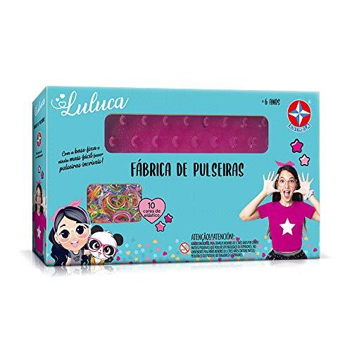 Fábrica De Pulseiras Luluca, Brinquedos Estrela, Multicor