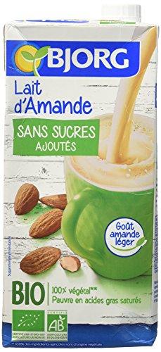 Bjorg Lait d'Amande sans Sucres Bio 1 L