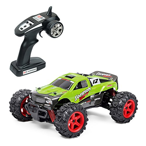RC Car, Metakoo High Speed 25MPH 40Km/h 1:24 Scale 4x4 Fast Race Cars, 2.4G Radio Remote Control 4WD Electric Power Buggy Off Road Truck RC Vehicle