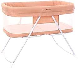 Stationary&Rock Mode Bassinet One-Second Fold Travel Crib Portable Newborn Baby