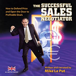 The Successful Sales Negotiator audiobook cover art