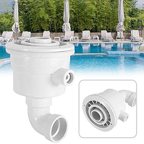 teyiwei Schwimmen Pool Rapids Düsen Hydrotherapie Massage Düsen Kunststoff Sprayer Rapids Massage Spa Teile Hohe Festigkeit Düsen Zubehör für Aquarium/Pool/Wasser Park (Weiß)