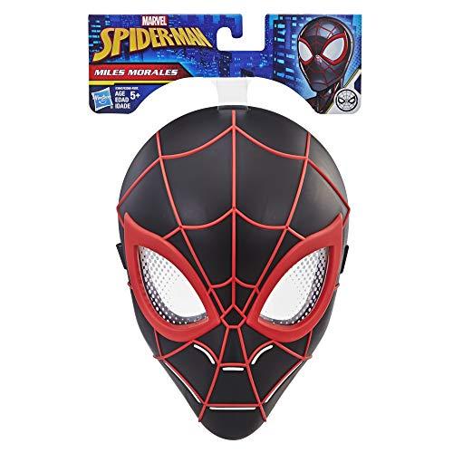 Marvel Spider-Man Miles Morales Hero Máscara para niños a partir de 5 años