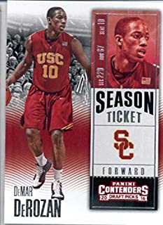 2016-17 Panini Contenders Draft Picks #24 DeMar DeRozan USC Trojans Basketball Card