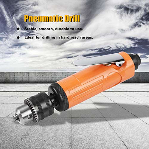 1800Rpm Pneumatic Drill, Pneumatic Straight Die Drill, for Furniture Machinery Production Hardware(KP-556 Small)