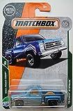 Matchbox ROAD TRIP, BLUE '75 CHEVY STEPSIDE 18/35 65TH ANNIVERSARY CARD