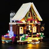 Kit di Illuminazione A LED per Lego Friends Chalet del Villaggio Invernale,Compatibile con Il Modello Lego 41323 Mattoncini da Costruzioni - Non Incluso nel Modello