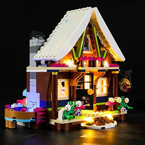 Led Beleuchtungsset Für Lego Friends Chalet Im Wintersportort,Kompatibel Mit Lego 41323 Bausteinen Modell (Modell Nicht Enthalten)