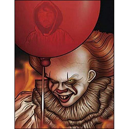 Decorsy Legpuzzel 1000 Stukjes Clown Met Rode Ballonnen Leuk Educatief Speelgoed Voor Kinderen