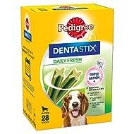 Pedigree Dentastix - Fresh Daily Dental Chews Medium Dog, 112 Sticks - 4 x 720 g