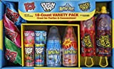 Bazooka Candy Brands, Halloween Lollipop Variety Pack w/ Assorted Flavors of Ring Pop, Pus...