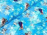 Baumwolljersey Disney Eiskönigin Frozen Meterware