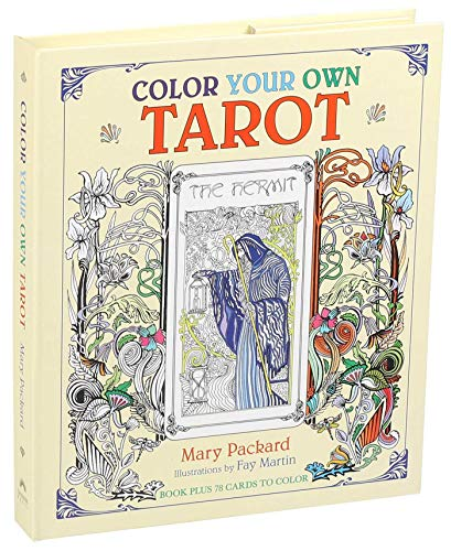 Color Your Own Tarot (Colouring Books)