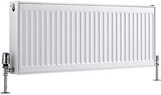 Zimmerheld Design Radiateur panneau chauffant chauffant pour salle de bain Blanc ou anthracite anthracite