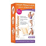 Sally Hansen Hair Remover Kit, 1 Count, Quick and Easy Wax Strip Kit (Packaging May Vary)
