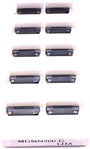 lowest ZIMING--1 online MGMN200-G high quality LDA Cutting Inserts 10PCS online