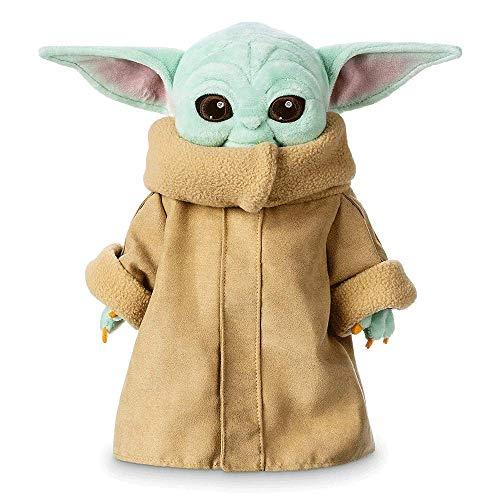 Baby Yoda Plüschfiguren, Mandalorian/The Child/Baby Yoda / 30cm / Plüschfigur Baby Yoda Plüsch, Baby Yoda Stofftier, Baby Yoda Puppe (Blau)
