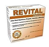 Revital Defensas - Con Jalea Real, Equinácea, Própolis, Vitaminas y Minerales - 20 Viales