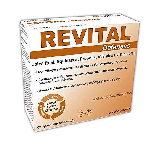 Revital Defensas - Con Jalea Real, Equinácea, Própolis, Vitaminas y