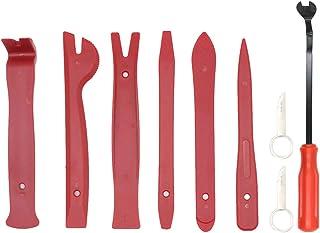 Wakauto Conjunto de ferramentas de remoção de carro com 9 peças, kit de ferramentas de remoção de clipe de painel de porta...