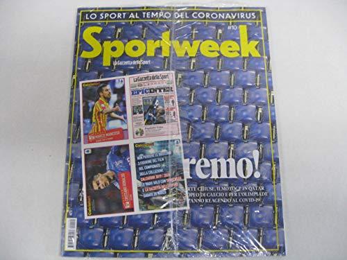 Sport Week + 3° Uscita Il Film del Campionato per Album CALCIATORI 2019/2020 PANINI con 3 Figurine Omaggio C12, C13 E C14