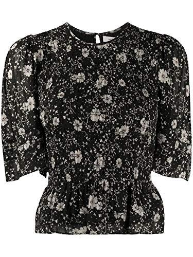 Luxury Fashion   Isabel Marant Étoile Dames HT170220P040EBKEC Zwart Viscose Blouses   Lente-zomer 20