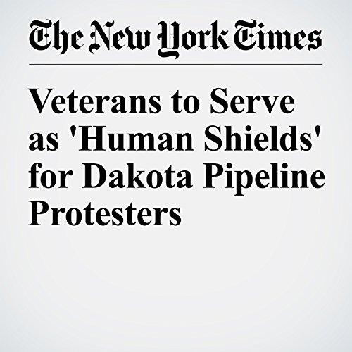 Veterans to Serve as 'Human Shields' for Dakota Pipeline Protesters cover art