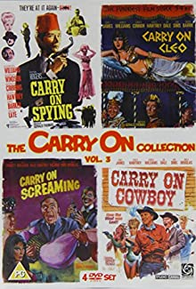 The Carry On Collection Volume 3 - Carry On Spying / Carry On Cleo / Carry On Screaming / Carry On Cowboy
