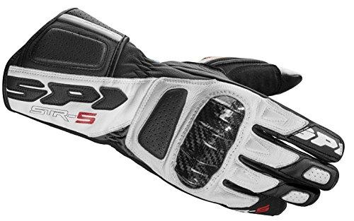 SPIDI Motorrad Handschuhe STR-5, Weiss, Größe XXL