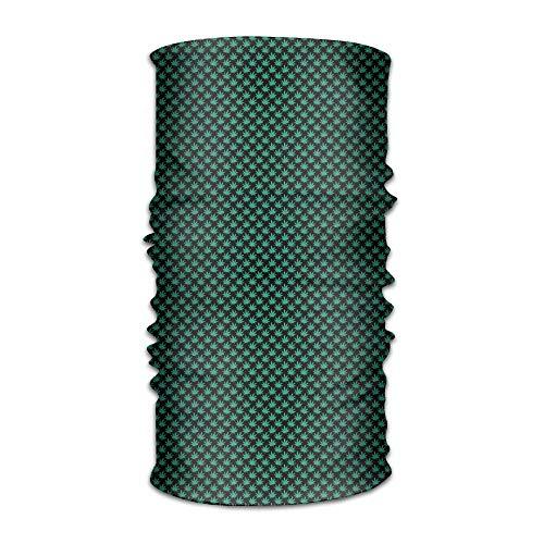 Babydo Grüner Kaktus-Streifen-magischer Schal Headwear Bandanas-Gesichtsmaske-Ansatz-Gamasche für Männer u. Frauen 25X50cm