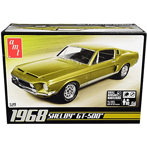 AMT 1:25 Scale 1968 Shelby Mustang GT-500 Model...