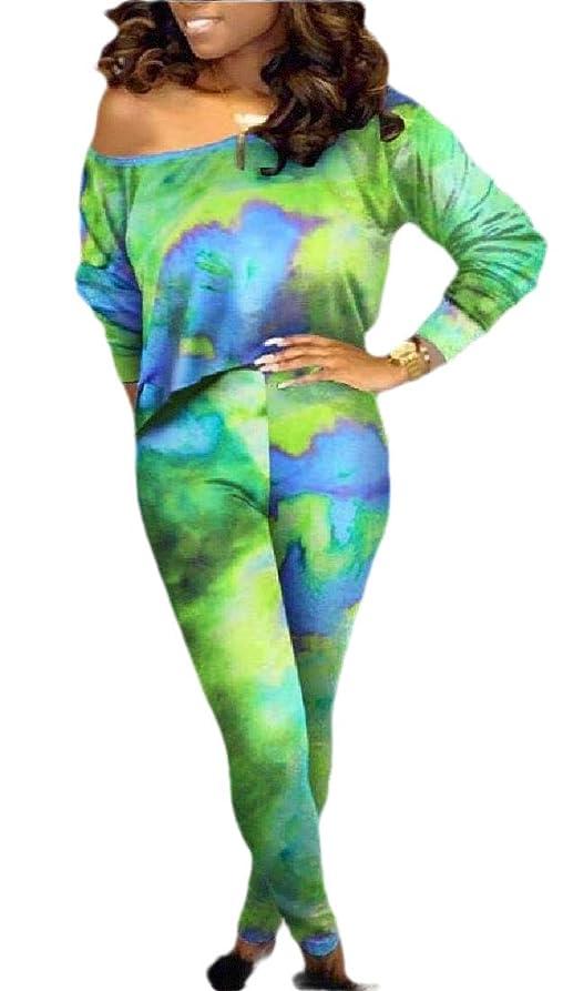 増強風把握女性2ピース セクシーオフショルダーハイウエストクロップトップス ボディコンパンツ衣装セット