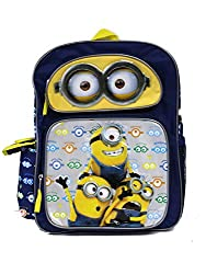 Despicable Me Minion Eyes Kids Backpack