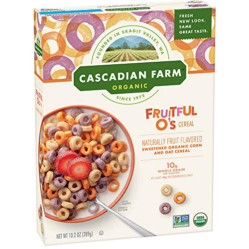 Fruitful O's Cereals - Vegan Ingredients