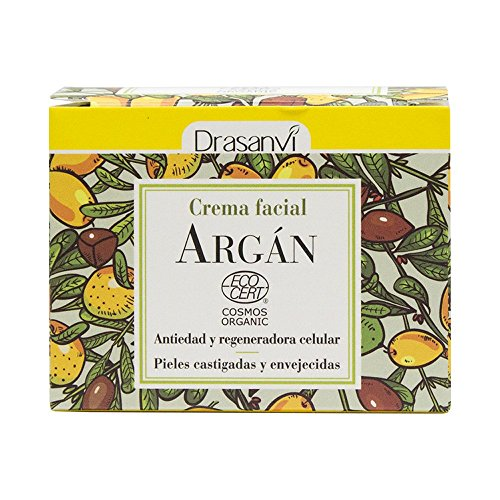 Drasanvi Crema Facial Argán Ecocert Bio, 50 ml