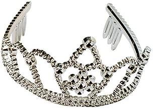 U.S. Toy Lot of 12 Silver Princess Tiara Crowns