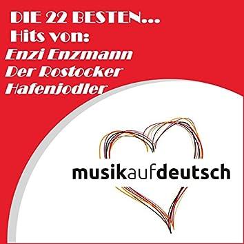 Die 22 besten... Hits von: Enzi Enzmann - Der Rostocker Hafenjodler (Musik auf Deutsch)