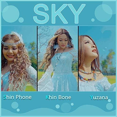 Shin Phone, Khin Bone & Yuzana