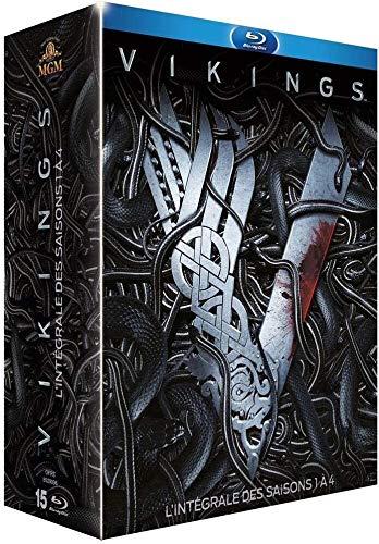 Vikings saisons 1 à 4 en Blu-ray