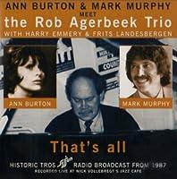 That's All(Ann Burton/Blue Jack Jazz)