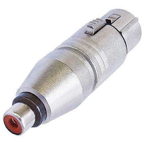 Neutrik ne257NA2FPMF 3Pin XLR Buchse auf Cinch-Buchse Adapter