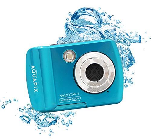 Easypix Cámara Sumergible EASYPIX W2024-I Splash Iceblue, 14MP Doble Panta, Azul