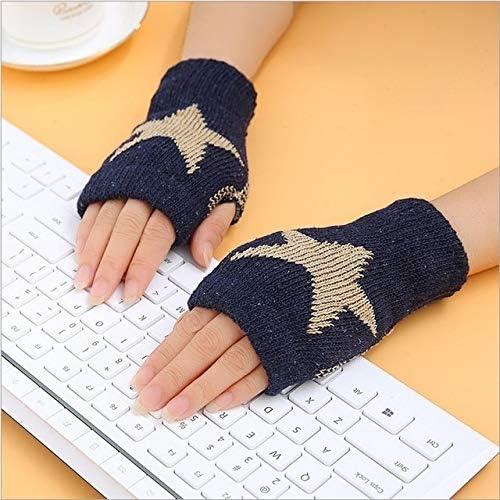 1Pair Spring Women Warmer Women Gloves Winter Fingerless Knit Mittens Button Gloves 2017 New - (Color: 14, Gloves Size: One Size)