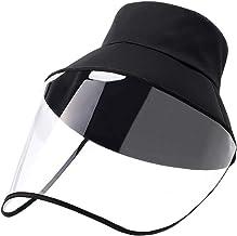 PANGHU Visi/ère de protection transparente /à rabat pour le visage et la protection contre les /éclaboussures avec bande /élastique pour atelier de cuisine pour Femmes Hommes