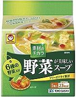 マルちゃん 野菜が美味しいスープ 中華風 6g×5個×12パック入